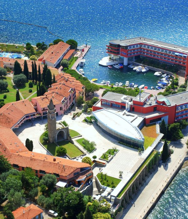 Hotels and campsite in Portoroz