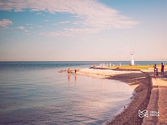 The Lighthouse beach - Izola