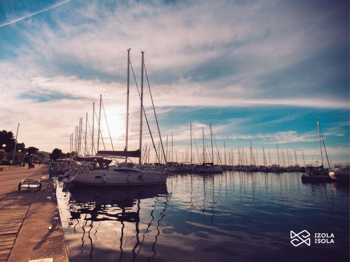 The town port - Marina Izola
