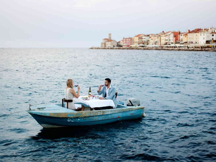 Discover Piran - a city that has grown on salt