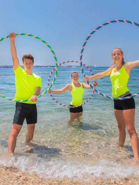 Summer activities in the idyllic nature of the Slovenian coast