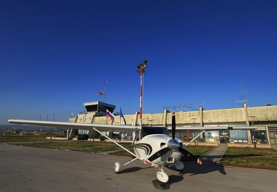 Portoroz airport - a step to the Bernardin Hotels - Hoteli Bernardin